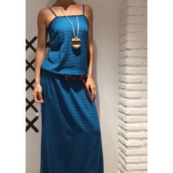 Vestido Long M1 Azul